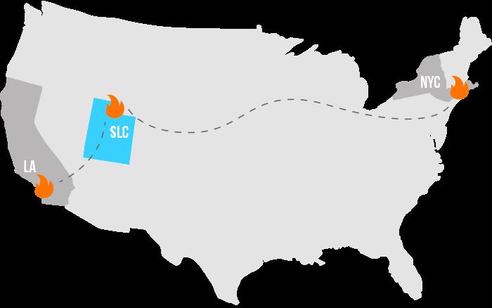 Surefire Event Locations in US